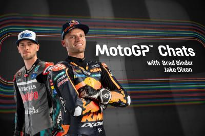 Brad Binder and Jake Dixon join MotoGP™ Chats on Thursday