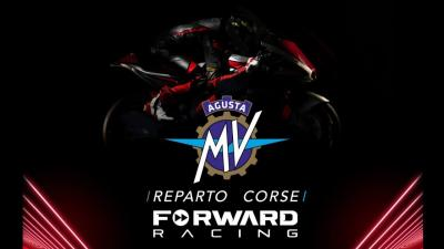 MV Agusta Forward Racing team launch