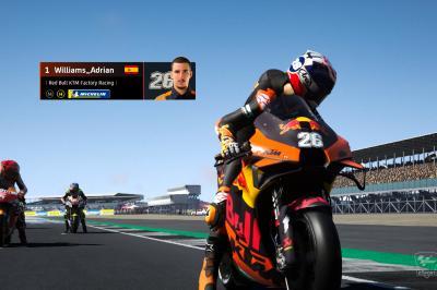 Williams_Adrian: Los planes del rey eSport MotoGP™ para 2021