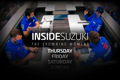『INSIDE SUZUKI ~The Crowning Moment』~エピソード1