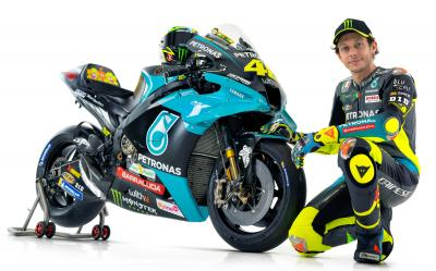 MUST-SEE: Rossi's first interview with Petronas Yamaha SRT