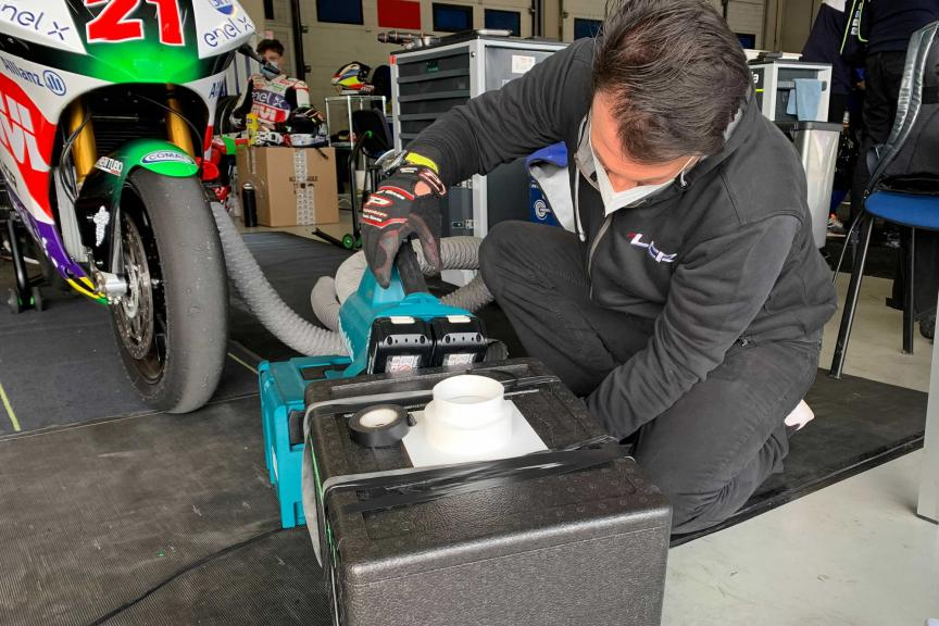 MotoE New battery_Jerez MotoE™ Official Test_2021