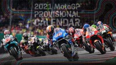 MotoGP™ : Mise à jour du calendrier provisoire 2021