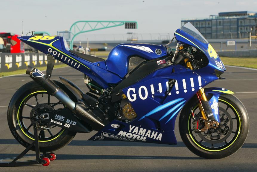 Yamaha YZR-M1, 2004