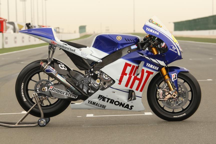 Yamaha YZR-M1, 2009