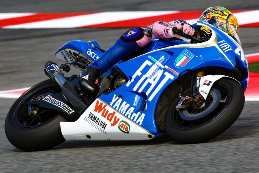 Yamaha YZR-M1, 2008