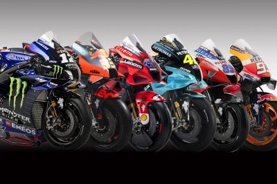 Presentadas las motos de MotoGP ™ 2021 en fotos