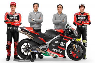 Aprilia Racing Team Gresini presenta el RS-GP 2021 renovado