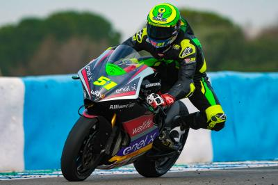 Granado pips Aegerter by 0.030s to end MotoE™ Test on top