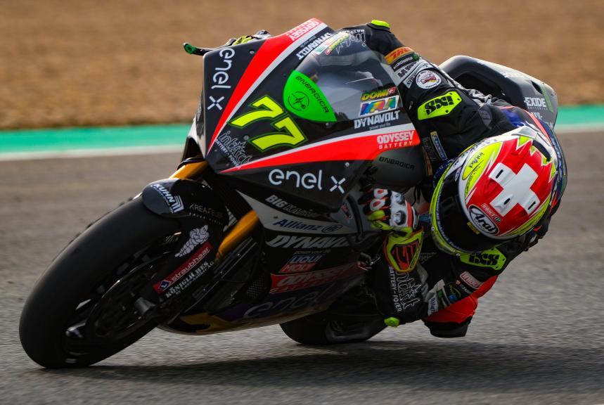 Dominique Aegerter, Dynavolt Intact GP, Jerez MotoE™ Official Test