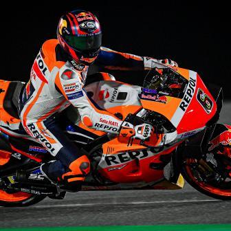 Bradl führt Oliveira zur Hälfte des ersten Tages in Qatar an