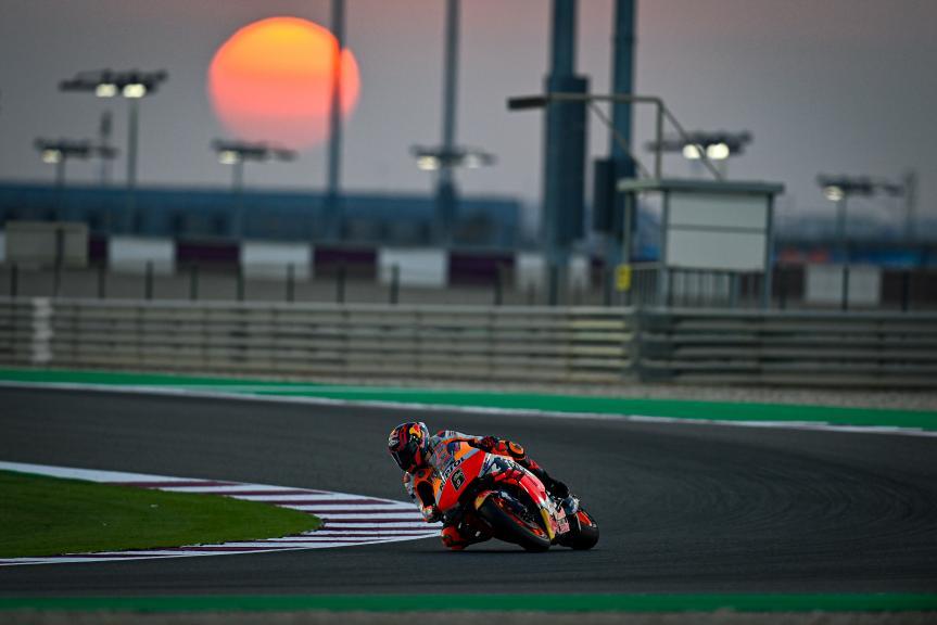 Stefan Bradl, Honda Test Team, Qatar MotoGP™ Official Test