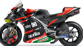 Photo gallery: 2021 Aprilia Racing Team Gresini bikes