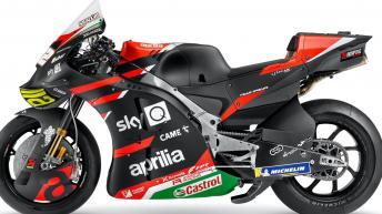 Photo gallery: 2021 Aprilia Racing Team Gresini bikes