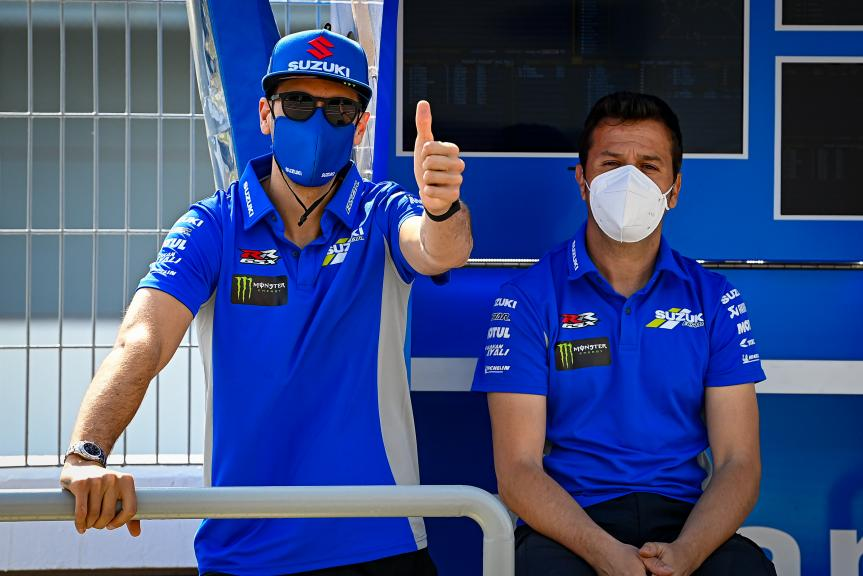Alex Rins, Team Suzuki Ecstar, Qatar MotoGP™ Official Test