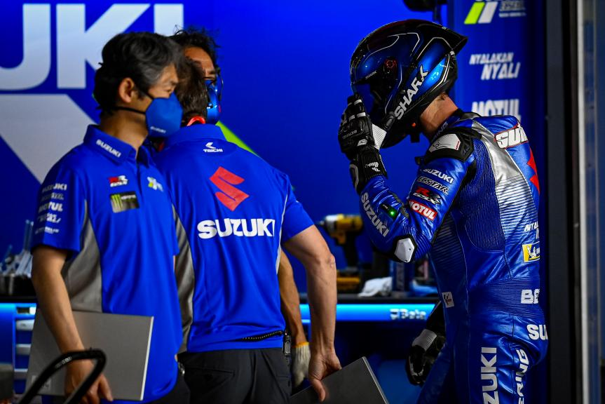 Sylvain Guintoli, Team Suzuki Ecstar, Qatar MotoGP™ Official Test