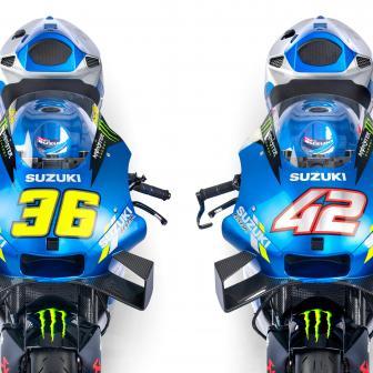 Team Suzuki Ecstar debütiert mit Monster-Lackierung für 2021