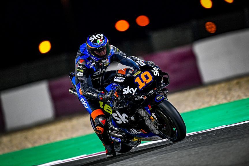 Luca Marini, Sky VR46 Avintia, Qatar MotoGP™ Official Test