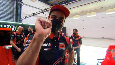 Meet the garage! Petrucci introduces us to his new team