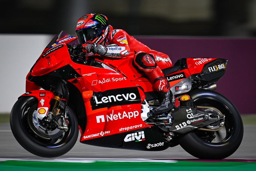 Francesco Bagnaia, Ducati Lenovo Team, Qatar MotoGP™ Official Test