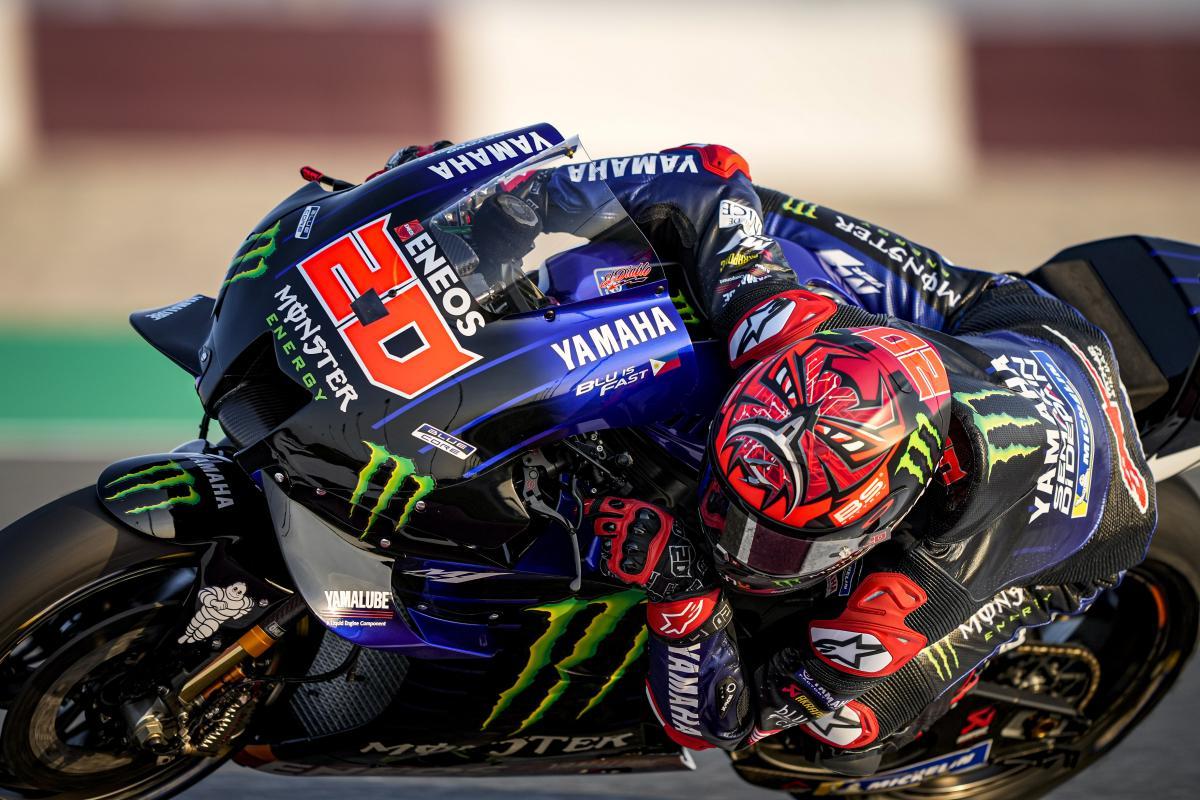 Quartararo conclut le Test du Qatar en beauté ! - MotoGP