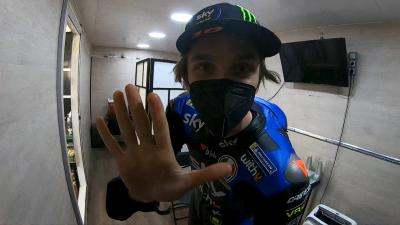 Debut Day: Luca Marini shows us his MotoGP™ preparations