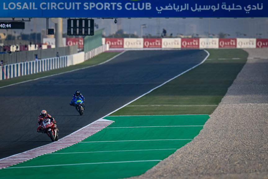 Takaaki Nakagami, Sylvain Guintol, Qatar MotoGP™ Official Test