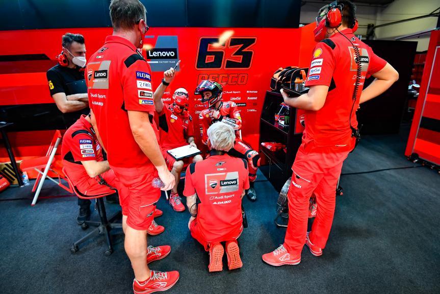 Francesco Bagnaia, Ducati  Lenovo Team, Qatar MotoGP™ Official Test
