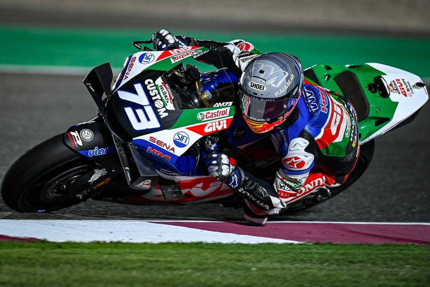 Alex Marquez, LCR Honda Castrol, Qatar MotoGP™ Official Test