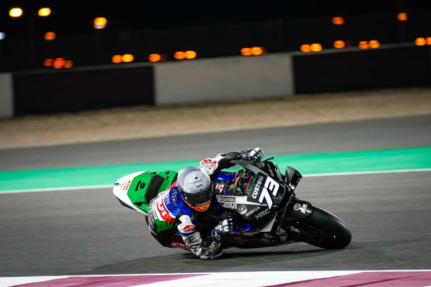 Alex Marquez, LCR Honda Castrol, Qatar MotoGP™ Official Test © shootersbike