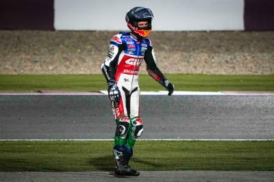 Alex Márquez sufre una pequeña fractura de metatarso