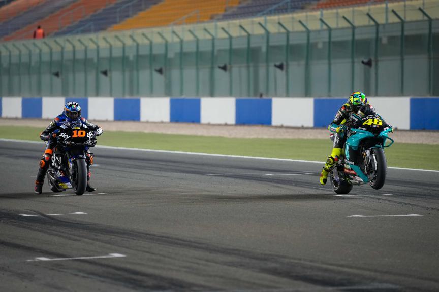 Luca Marini, Valentino Rossi, Qatar MotoGP™ Official Test © shootersbike