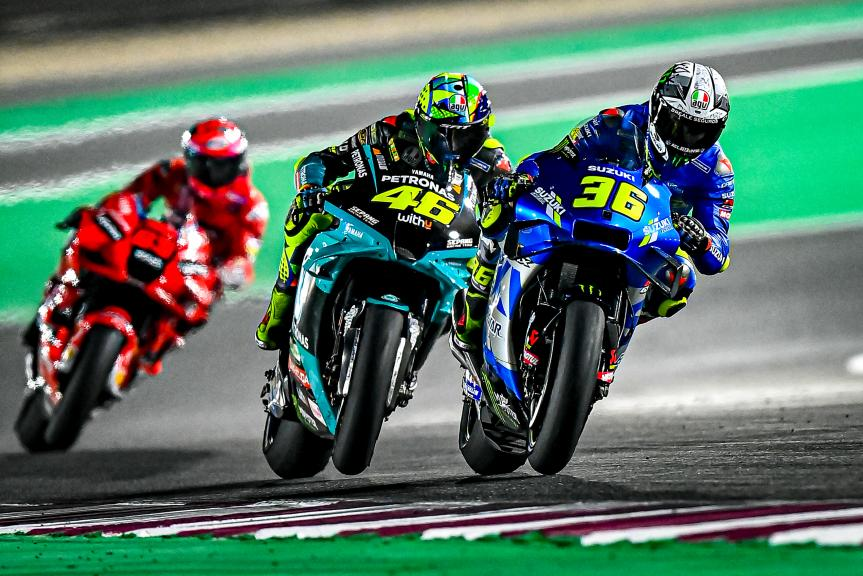 Joan Mir, Valentino Rossi, Qatar MotoGP™ Official Test