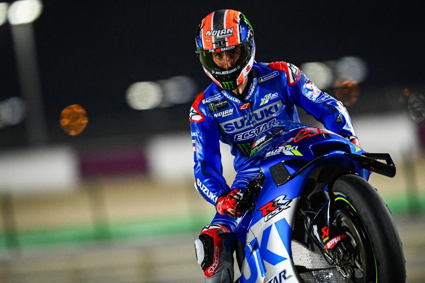 Alex Rins, Team Suzuki Ecstar, Qatar MotoGP™ Official Test