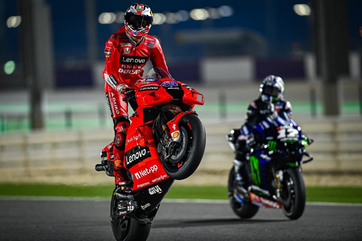 Miller se corona rey del Test y aviva el sueño de Ducati   MotoGP™