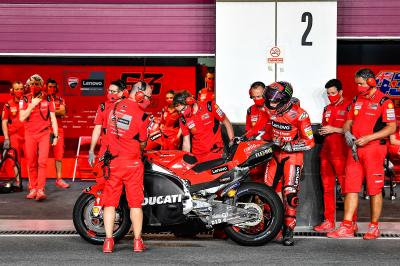 Ducati in Qatar: 6 debuts, 3 rookies and blistering speeds