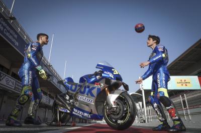 MotoGP™ meets FCB: Mir & Pedri head for Catalunya