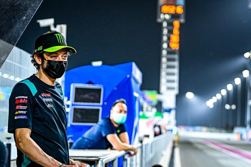 Valentino Rossi_Petronas Yamaha_Qatar MotoGP™ Official Test_2021