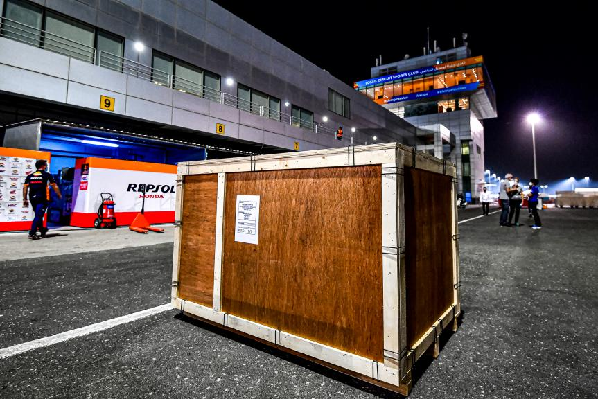 Logistic, Qatar MotoGP™ Official Test