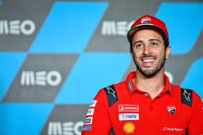 Dovizioso set for sensational MotoGP™ return with Aprilia