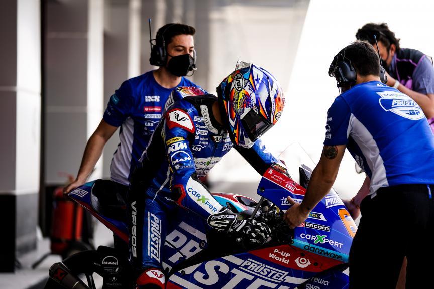 Ryusei Yamanaka, Carxpert PruestelGP, Qatar Moto3/Moto2 Official Test
