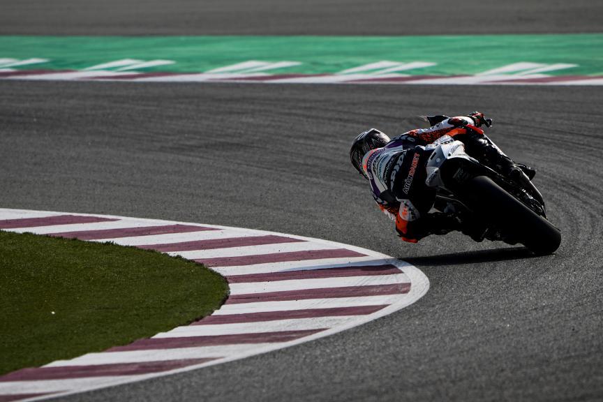 Aron Canet, Aspar Team, Qatar Moto3/Moto2 Official Test
