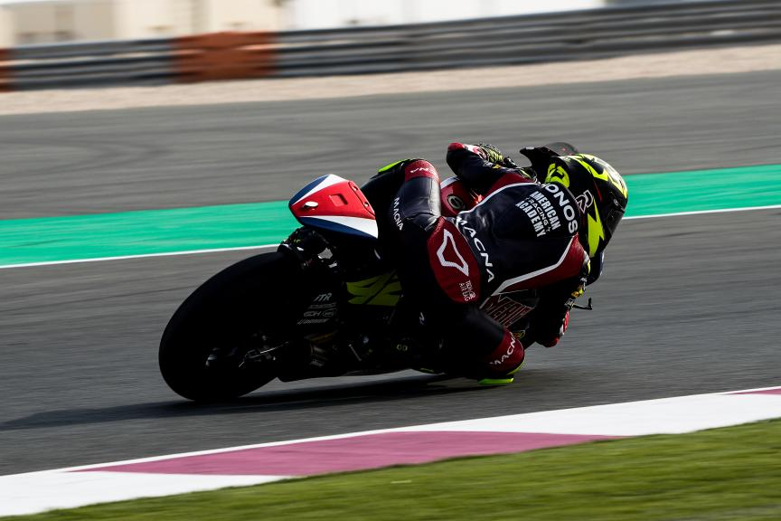 Marcos Ramirez, American Racing, Qatar Moto3/Moto2 Official Test