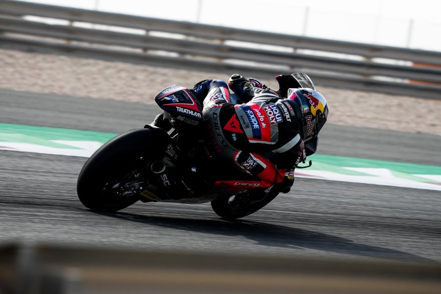 Tony Arbolino, Liqui Moly Intact GP, Qatar Moto3/Moto2 Official Test