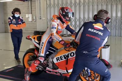 Marc Marquez's race to be fit progresses in Portimao
