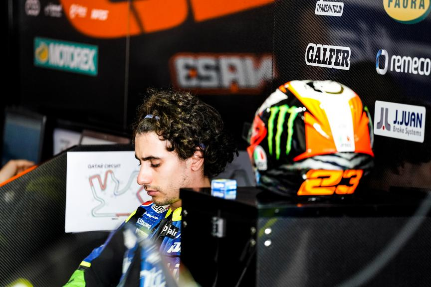 Niccolò Antonelli, Reale Avintia Moto3, Qatar Moto3/Moto2 Official Test