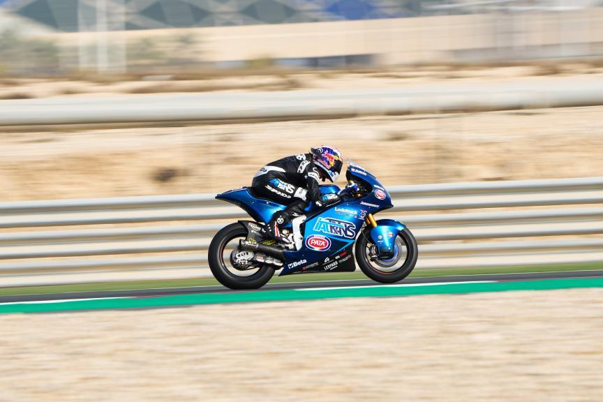 Joe Roberts, Italtrans Racing Team, Qatar Moto3/Moto2 Official Test