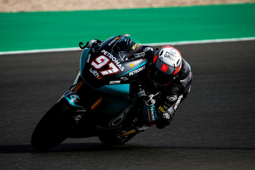 Xavi Vierge, Petronas Sprinta Racing, Qatar Moto3/Moto2 Official Test