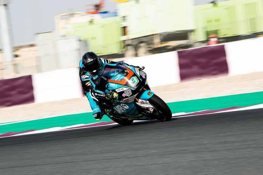 Jorge Navarro, Speed Up Racing, Qatar Moto3/Moto2 Official Test