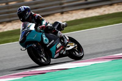 Test de Qatar: El trío más veloz de Moto3™ valora el Día 2